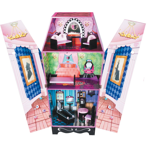 Ma maison hantee monster hight 10081231 - Accessoire monster high pour chambre ...