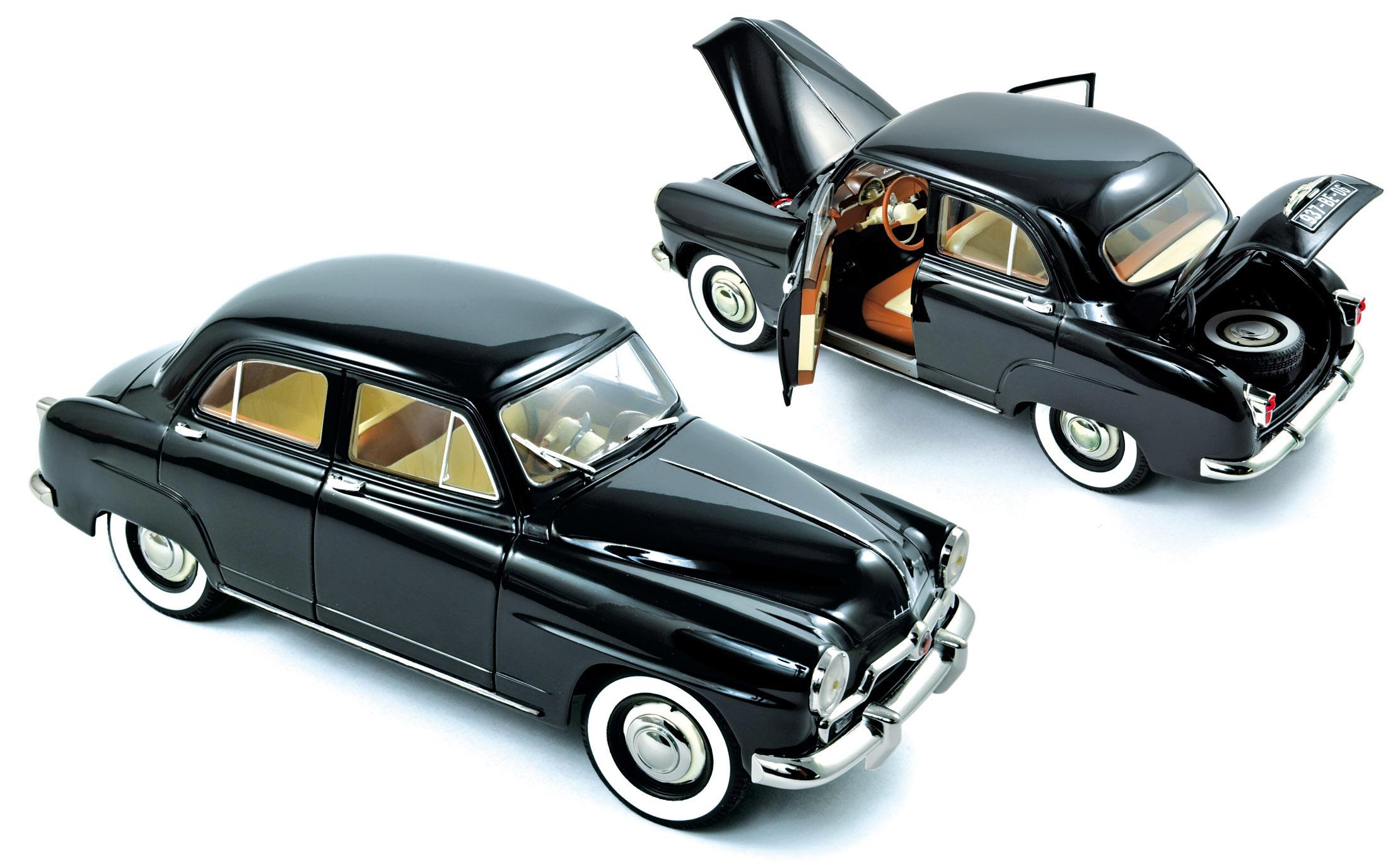 simca aronde 1953 black 1 18 norev 185740. Black Bedroom Furniture Sets. Home Design Ideas