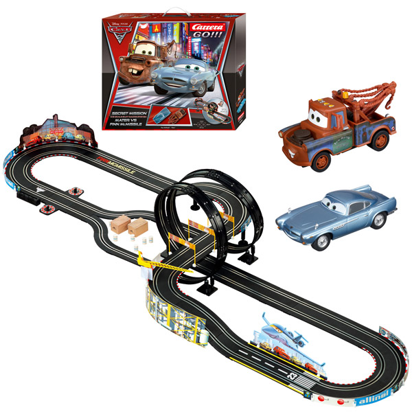 coffret carrera go disney cars 2 mission secrete. Black Bedroom Furniture Sets. Home Design Ideas