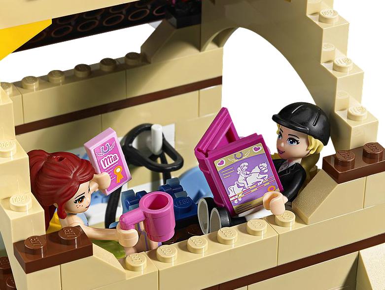 les curies de heartlake city lego friends 3189. Black Bedroom Furniture Sets. Home Design Ideas