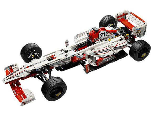 la voiture de f1 lego technique 42000. Black Bedroom Furniture Sets. Home Design Ideas