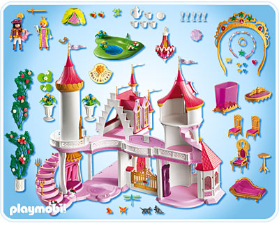 Palais de princesse playmobil 5142 for Playmobil princesse 5142