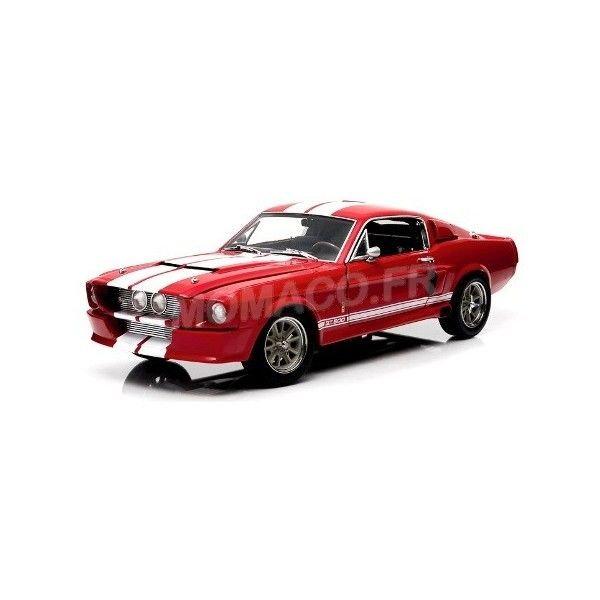 Mustang 12928 Ford 1967 Rouge 118 Greenlight Shelby Gt500 29IEYHWD