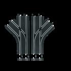 Changements de voie à mécaniques Carrera go Carrera Digital 143