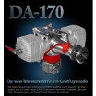Moteur Desert Aircraft DA 170 - Moteur essence 2 temps 170 cm3