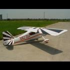 """Decathlon Pilot RC 122""""(32%) 3,1m - Argent / Noir - 50cc à 85cc"""