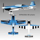 Extra 300 LX pilot RC compétition : 2.60m d'envergure