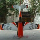 Extra 330SC Pilot RC 2.24m - Orange checker 50 - 60cm3