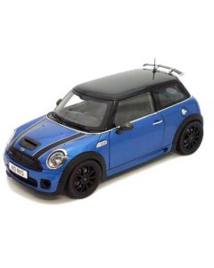 Mini Cooper S John Cooper Works blue
