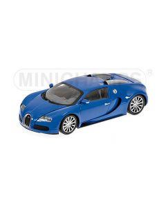 Bugatti Veyron 2010 Bleu - 1/18 - 100110821 - Minichamps