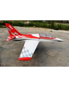 Dolphin jet Pilot RC 2m - Kit - Rouge et blanc version sport
