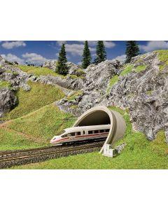 Entrée de tunnel pour route/ ICE