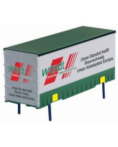 Jumbo Container Green White