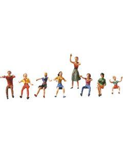 Jeu de figurines pour fête foraine I Faller