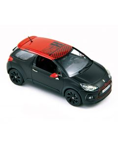 Citroen DS3 Racing S.Loeb 2012 Matt black - Norev - 155274