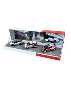 Coffret Citroë Racing 2012 DS3 Racing + DS3 R3 + DS3 WRC - 155354 - NOREV