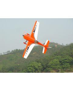 Edge 540 Pilot RC (24%) 1,85m - Orange / Blanc - 30cc à 55cc