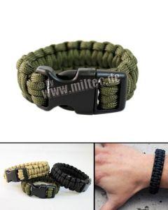 Bracelet Para 15mm Taille M Olive - 16370101-904 - MilTec