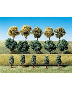 15 Arbres feuilles Faller