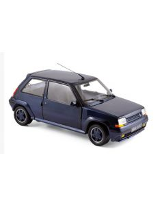 Renault Super 5 GT Turbo 1987 Metallic Blue - 1/18 - Norev - 185205