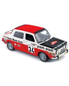 Simca 1000 Rally de Monte Carlo 1973 - 1/18 - Norev