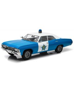 Chevrolet Biscayne 1967 Police de chicago - 1/18 - Greenlight - 19009