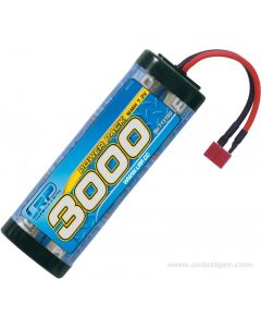 Accu Ni-MH 3000 mAh 7.2 V LRP Power Pack 3000 - 6-cell NiMH Stickpack