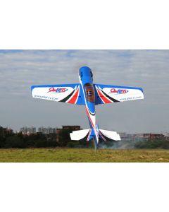 Yak 55M 107'' (33%) 2,70m - Bleu/Blanc - 100 à 120cc