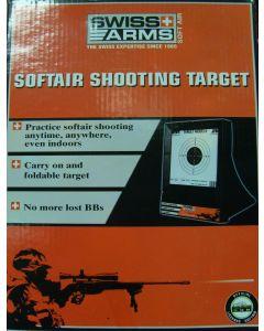 Cible avec Filet de protection - Swiss Arms - 603404