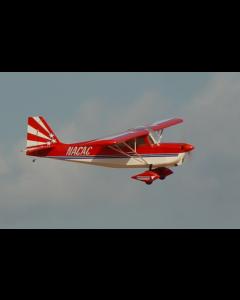 """Decathlon Pilot RC 107""""(28%) 2,7m - Blanc / Noir / Argent - 30cc à 50cc"""