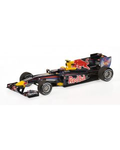 RED BULL RACING RENAULT RB6 MARK WEBBER 2010 MINICHAMPS