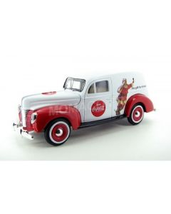 FORD VAN FOURGONNETTE 1940 COCA-COLA HOLIDAY - 1/24 - 439695 - MotorCity