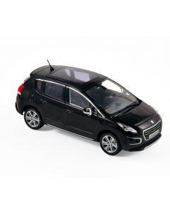 Peugeot 3008 2013 Perla Nera black  - Norev - 473847