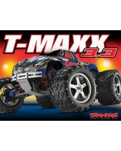 TMAXX 3.3 - 4x4 - 1/10 NITRO - 1/10ème thermique - TRAXXAS - 4907