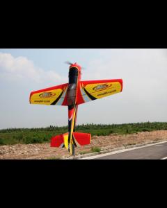 Yak 55M 107 '' (33%) 2,70m - Rouge / Jaune / Argent - 100 à 120cc