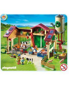 Ferme moderne avec silo - Playmobil - 5119