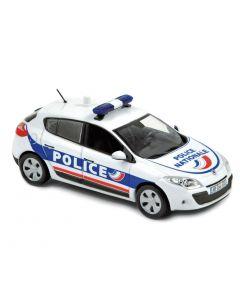 Renault Megane 2010 Police Nationale - 1/43 - Norev - 517713