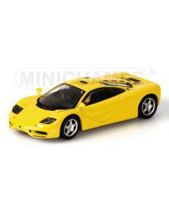 MCLAREN F1 - ROAD CAR - 1993 - YELLOW