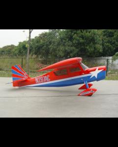 """Decathlon Pilot RC 122""""(32%) 3,1m - Bleu / Rouge - 50cc à 85cc"""