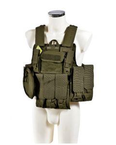 Veste tactique Ciras OD - 6024A - Phantom