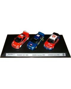 Coffret World rally Car Top 3 ed2004