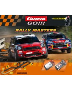 Circuit Carrera COFFRET Rally Master citroën DS3