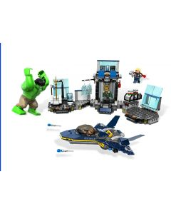L'évasion en héliporteur de Hulk™  - 6868
