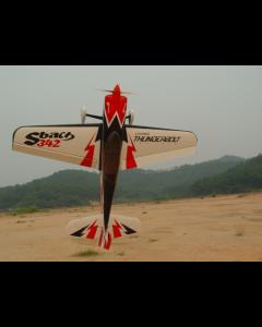 """Sbach 342 Pilot RC - 107""""(36%) 2,70m - Noir/Rouge/Blanc - 100cc"""