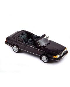 Saab 900 Turbo Cabriolet 1991 - Noir - 810041 - Norev