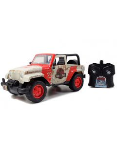 Jeep Wrangler 1992 Radiocommandé Jurassic World - 84242 - Jada Toys