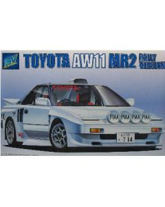 TOYOTA AW11 MR2 Rally version