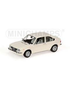 ALFA ROMEO ALFASUD WHITE 1972 L.E. 1200 PCS.