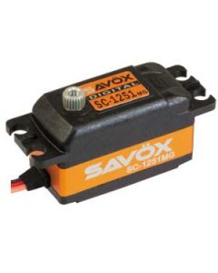 Servo SAVOX DIGITAL - SC 1251MG - 9kg-0.09s