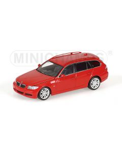BMW 3-SERIES TOURING RED WITH ENGINE 2005